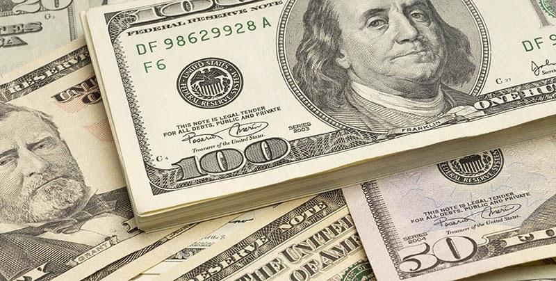 cédulas de 50 e 100 dólares para você importar dos Estados Unidos