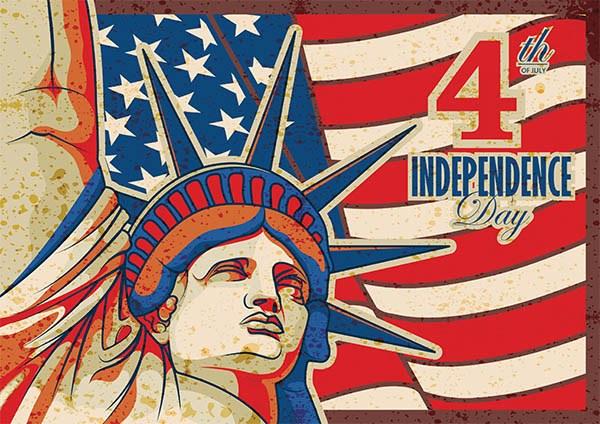 4th of July - compre dos EUA e receba no brasil