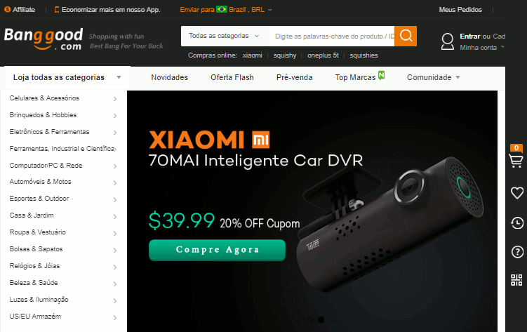 826618a8d 10 Melhores Sites de Compras Online da China - Confiáveis e Baratos