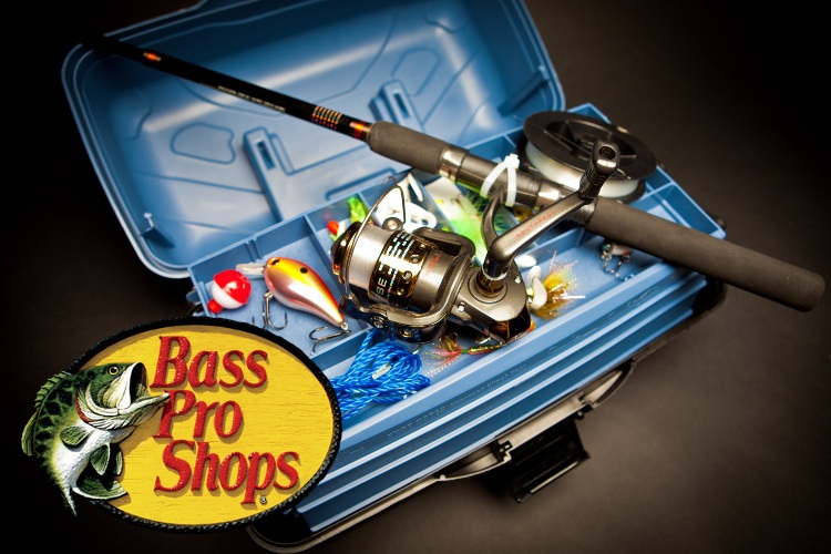 Bass Pro Shops loja de pesca alternativa nos Estados Unidos