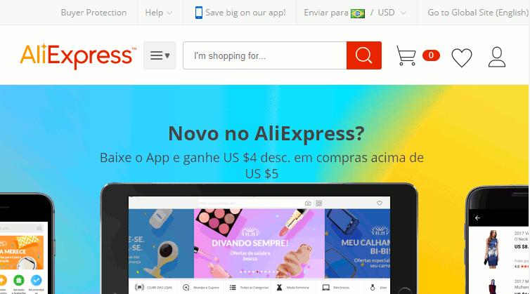 1c0356a9b 10 Melhores Sites de Compras Online da China - Confiáveis e Baratos