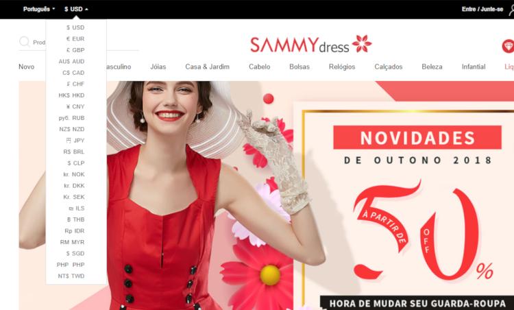 Como importar vestidos da china no sammydress sem errar o tamanho passo a passo (19)