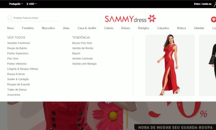 Como importar vestidos da china no sammydress sem errar o tamanho passo a passo (20)