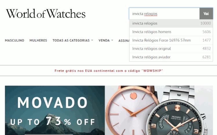 01 world of watches loja para importar relógios invicta originais dos eua com desconto