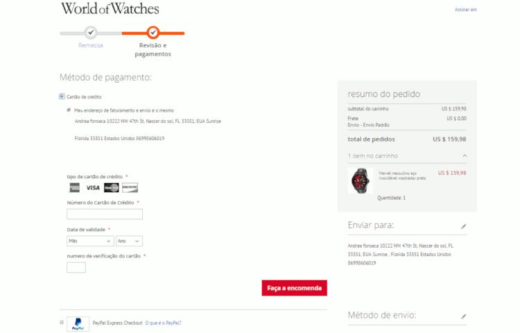 09 metodos de pagamento world of watches