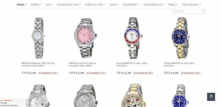 12 as 3 melhores lojas para comprar relógios invicta nos EUA