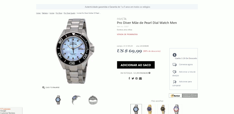 15 relogios invicta amazon jomashop world of watches