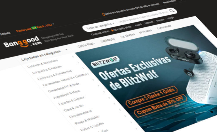 O site banggood é confiável?